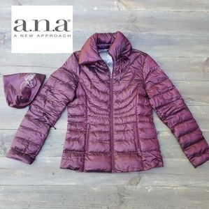 a.n.a. JCPenney packable down jacket